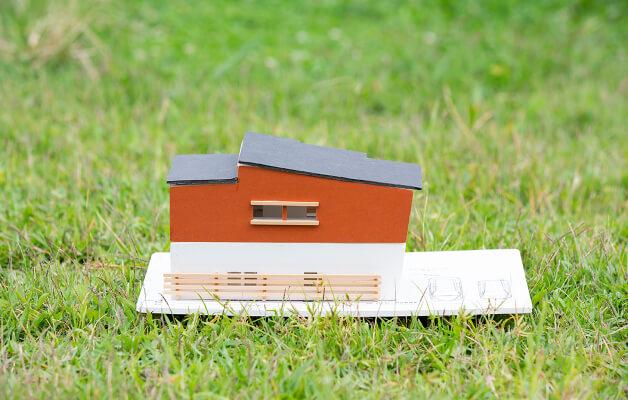 モデルハウス模型の写真