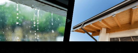 年間降水量の把握と夕立の想定 軒の出や庇の設計