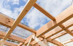 木造軸組工法[在来工法]の写真