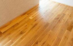 無垢床の写真